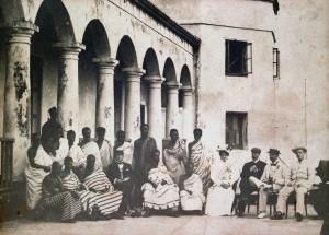 Nana Prempeh in Freetown